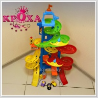 Парковка fisher-price little people city skyway.