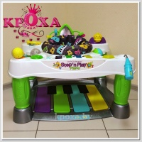 "Пианино ""Супер Стар"" fisher-price little superstar step n play piano"
