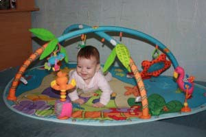 ActiviTot Baby Gym from Tiny Love - Tropical Isle Theme