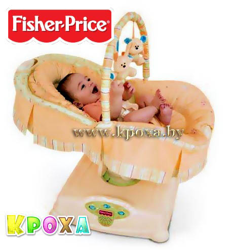 FISHER PRICE SOOTHING MOTIONS GLIDER BASSINET
