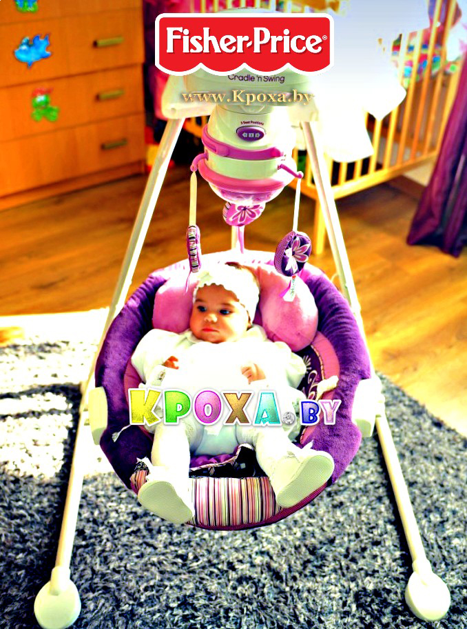 fisher-price sugar plum swing
