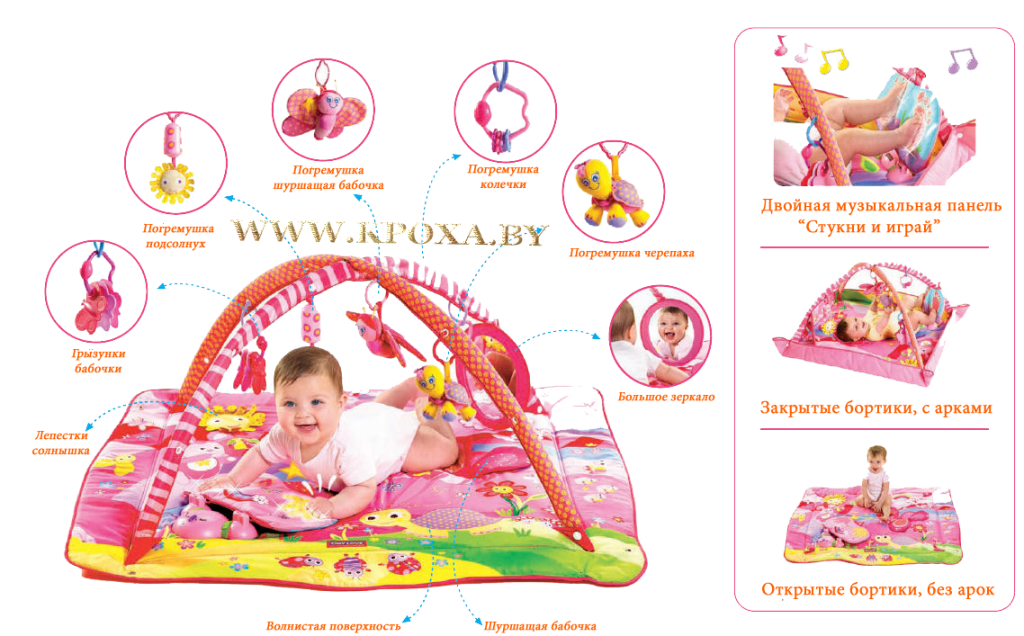 Tiny Love Gymini Tiny Princess Activity Gym