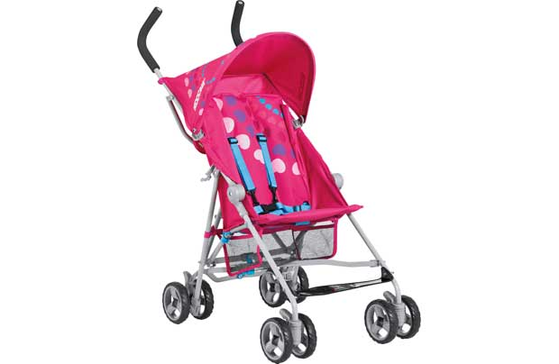 Koochi Roadrunner Disco Girlz Pushchair.