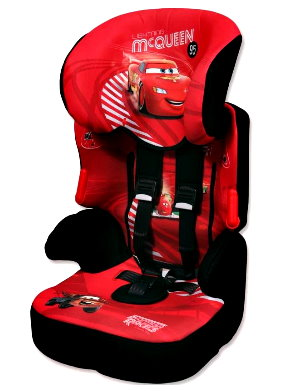 Универсальное автокресло Nania Beline SP Disney Молния Маквин (Наниа