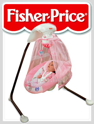 «Розовое дерево» от Fisher Price Tree Party Pink Baby Swing NEW