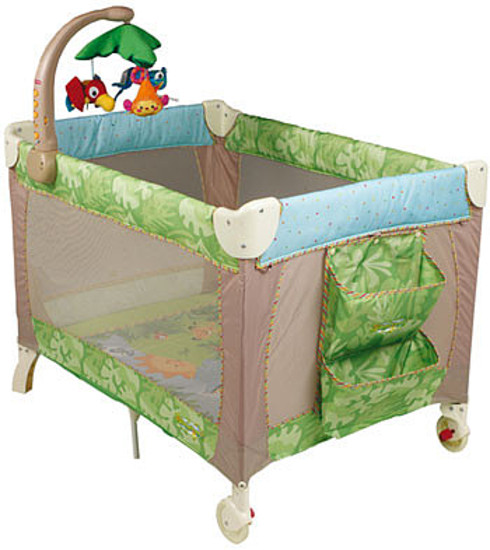 Манеж-кроватка Fisher-Price Recalls Simplicity's Rainforest