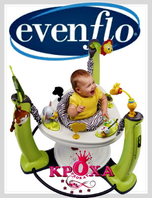 Джунгли Evenflo ExerSaucer Jungle Quest напрокат