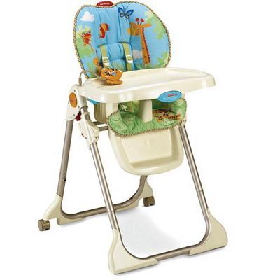 Тропический лес стульчик для кормления напрокат Fisher-Price
