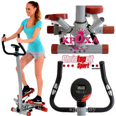 В прокат Степпер Christopeit Stepper Twist'n Step Pro mit Haltestange