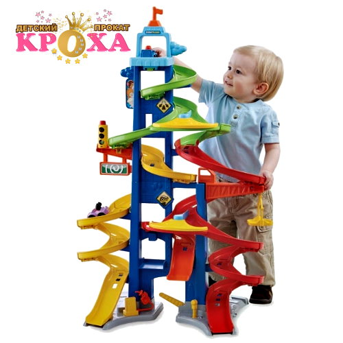 Парковка fisher-price little people city skyway