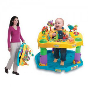Evenflo Silly Safari Mega Freestanding ExerSaucer