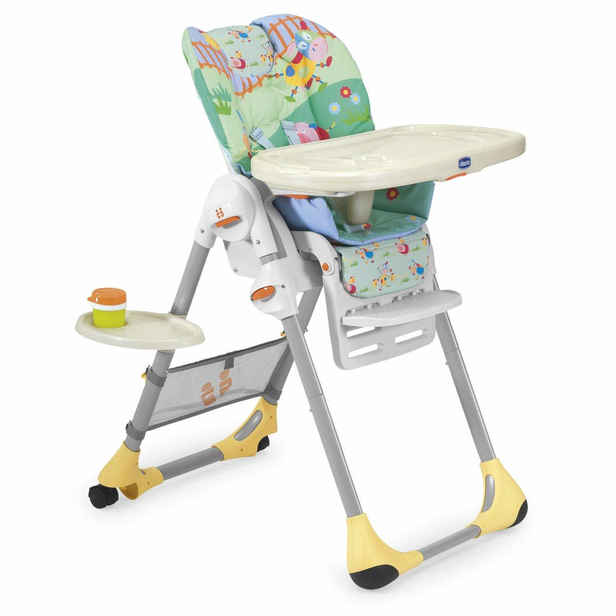 Стульчик для кормления Chicco Polly Highchair Friends, London rent