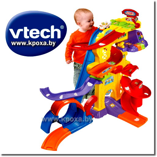 Парковка VTech Go! Go! Smart Wheels Ultimate Amaze-Ment Park Playset